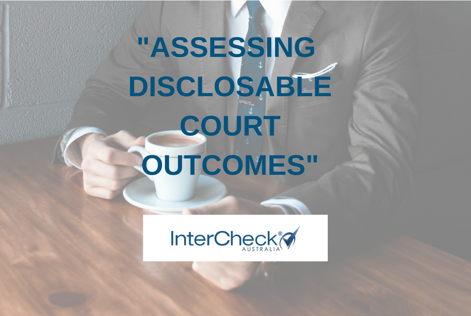 Assessing Disclosable Court Outcomes